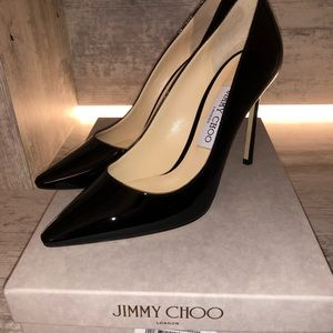 Jimmy Choo Romy 100 Patent Pump